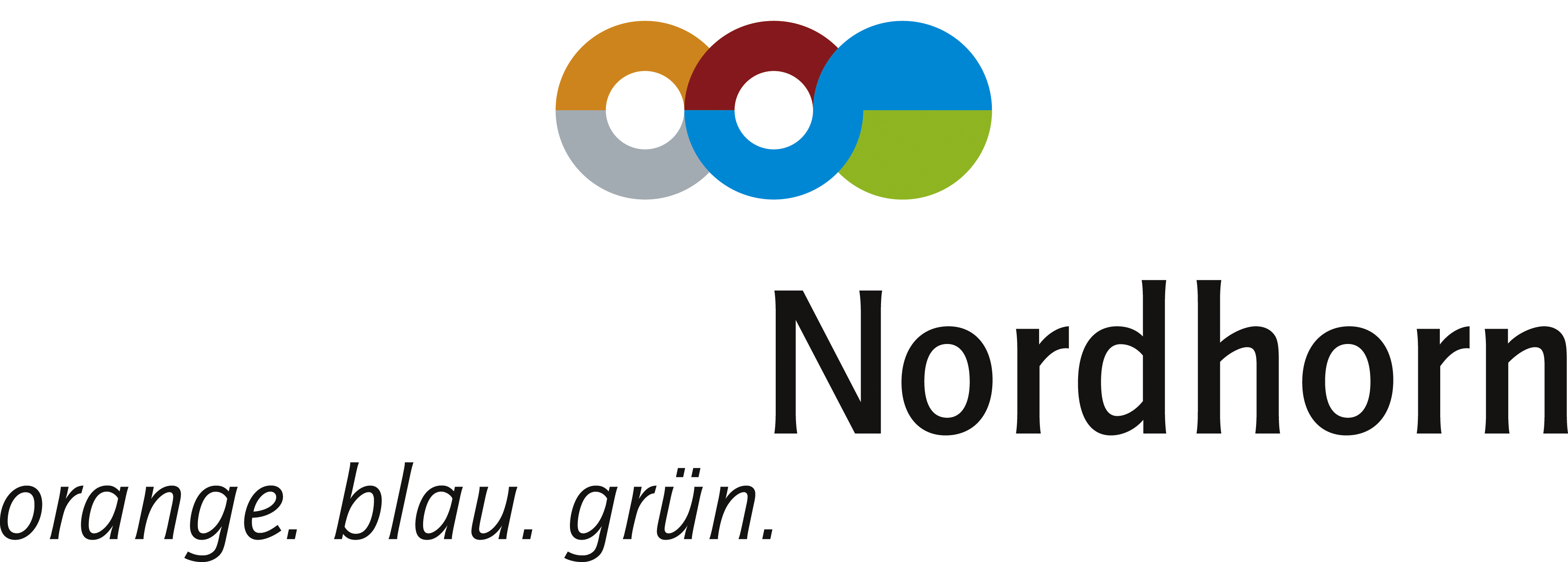 Nordhorn (orange.blau.grün.) RGB