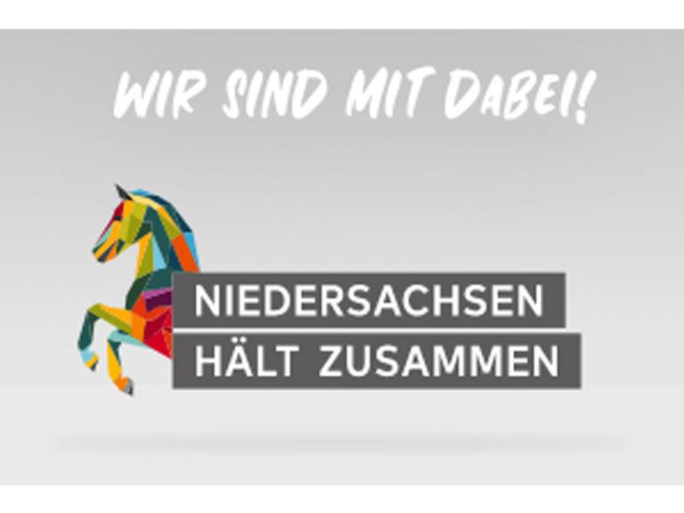Logo Niedersachsen hält zusammen