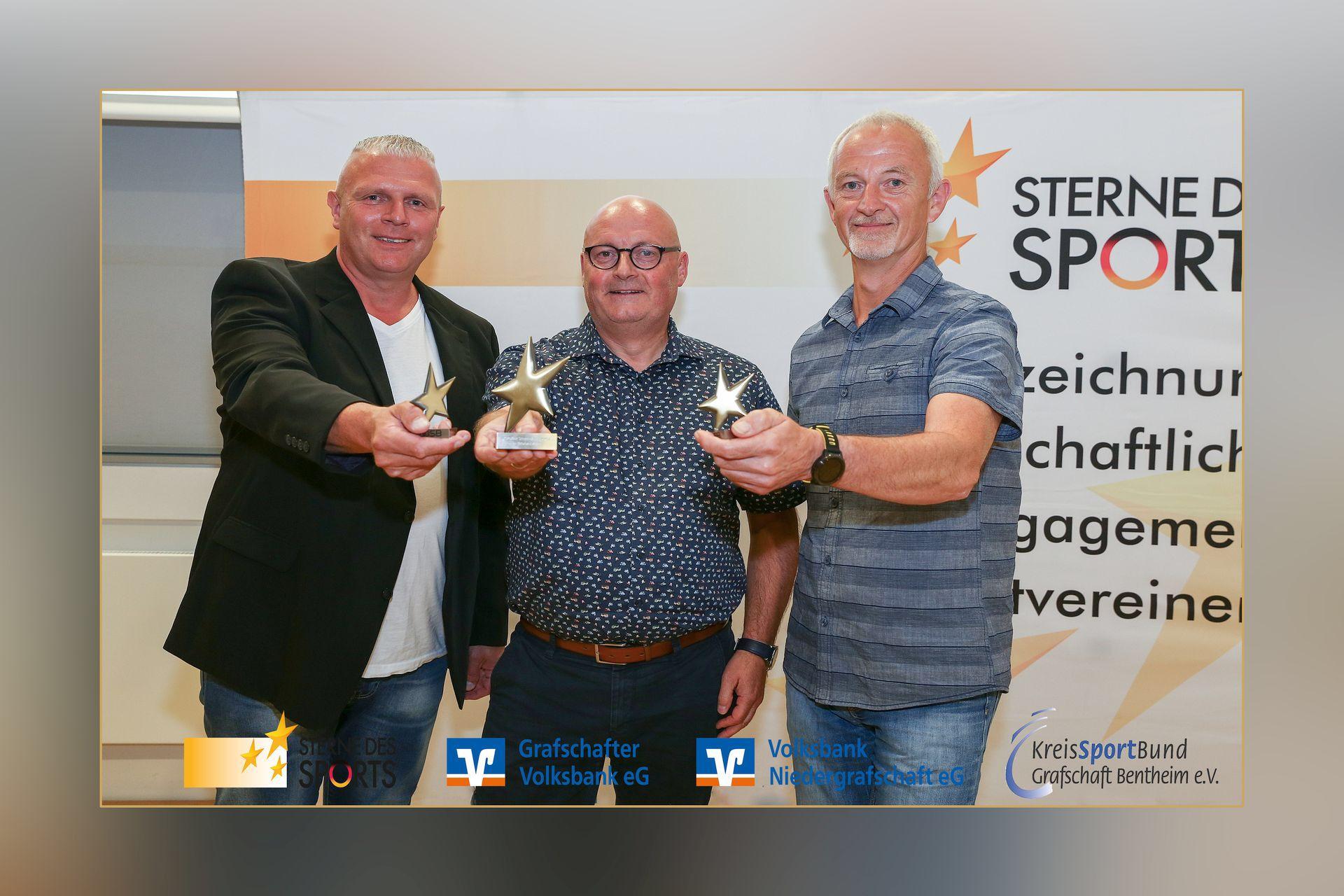 """""""Bronzener Stern des Sports"""" für den SV Vorwärts Nordhorn"""