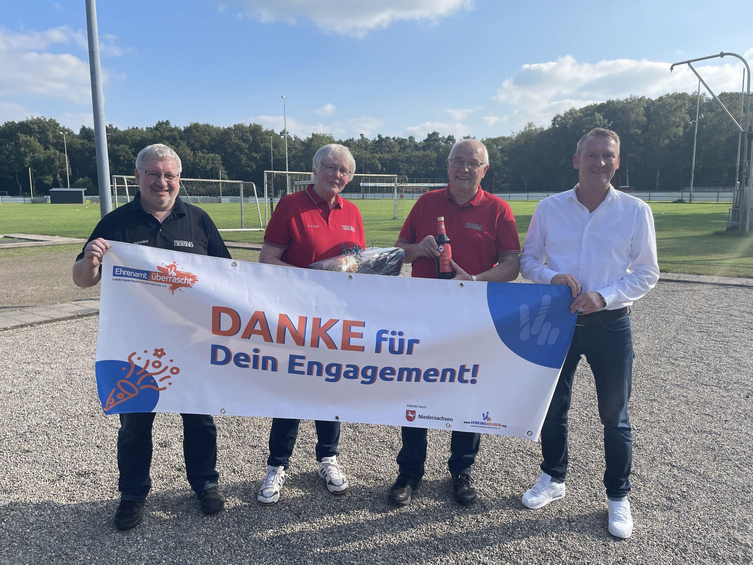 """Erfolgreicher Startschuss für """"Ehrenamt überrascht"""" 2021"""